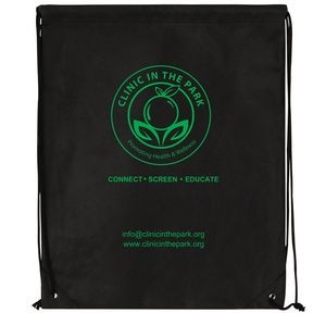 "Non Woven Polypropylene Cynch Backpack (16""x20"")"
